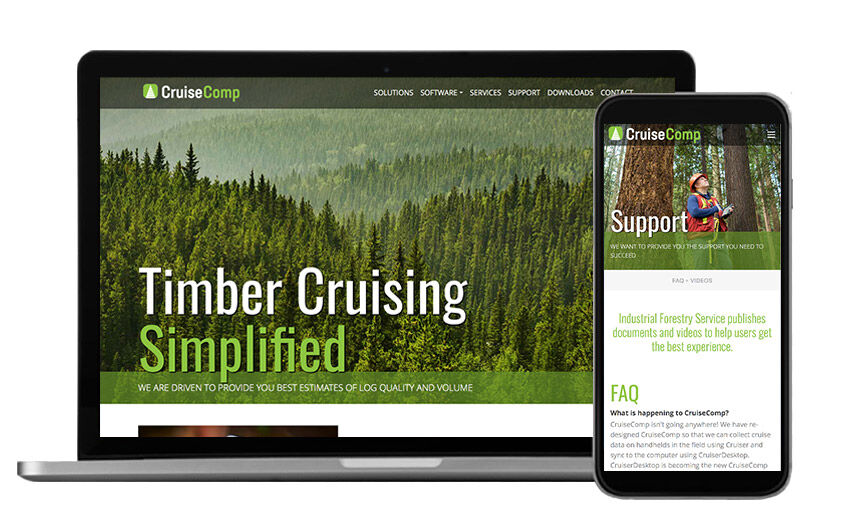 Timer cruising app website for CruiseComp