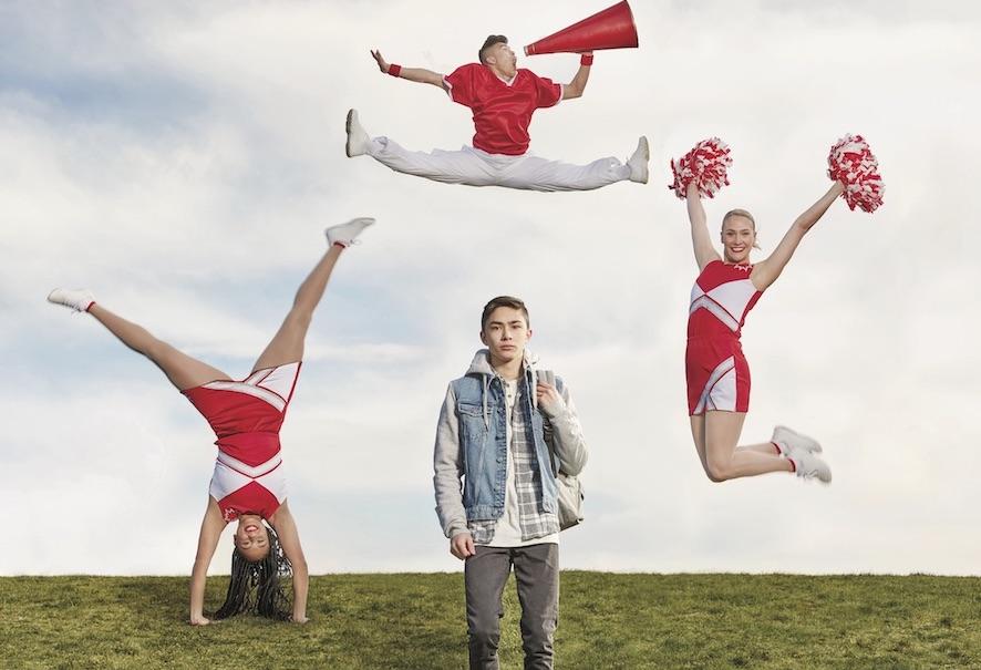 Cheerleaders for CMHA