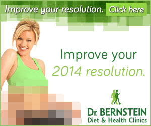 News years resolution ad for Dr. Bernstein
