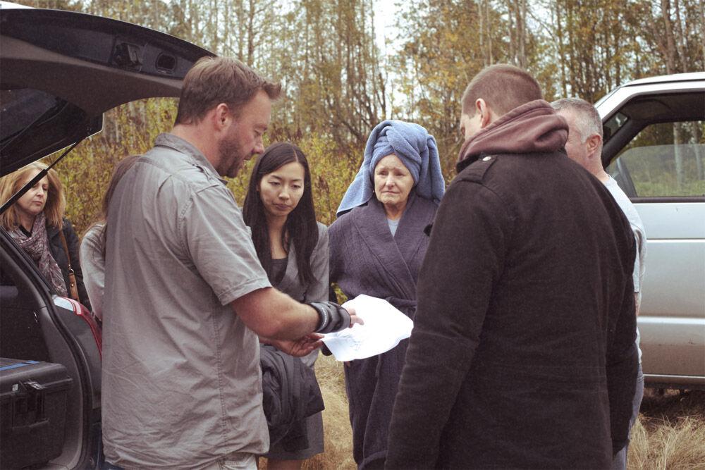Peter Holst behind the scenes