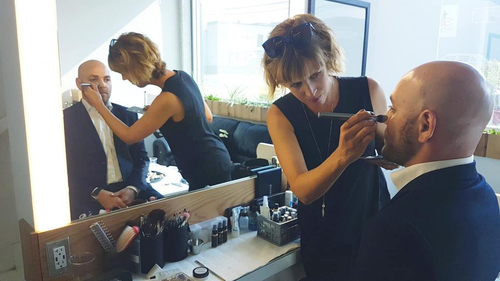 Marie Helene Babin at the CCE shoot