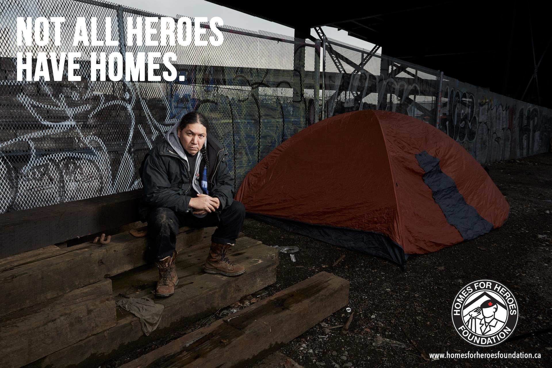 Homeless Veteran Ad in Lurzers